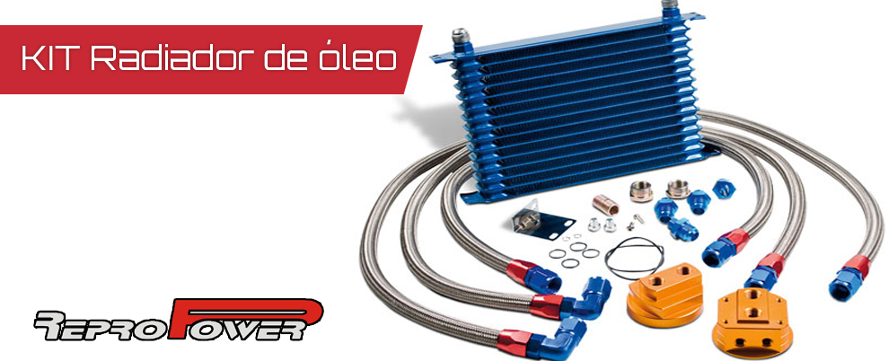 kit radiador de oleo